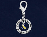 25 Down Syndrome Awareness Hanging Charms (25 Charms)