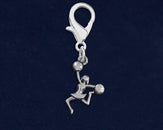 25 Cheerleader Shaped Hanging Charms (25 Charms)