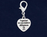 25 Difference Ribbon Awareness Hanging Charms (25 Charms)