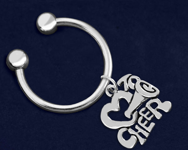 12 Love To Cheer Key Chains (12 Key Chains)