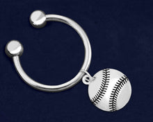 Load image into Gallery viewer, 12 Baseball/Softball Key Chains (12 Key Chains)