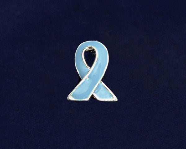 50 Lapel Prostate Cancer Ribbon Pins (50 Pins)