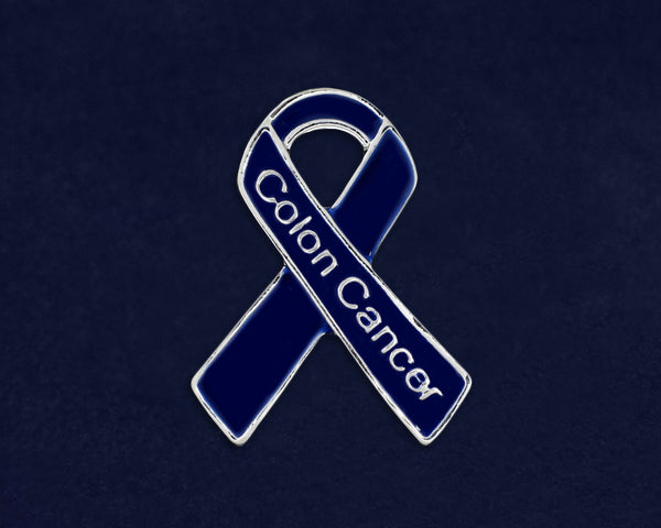 25 Colon Cancer Awareness Pins (25 Pins)
