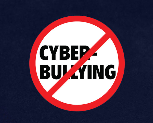 25 No Cyber Bullying Paper Signs (25 Signs)