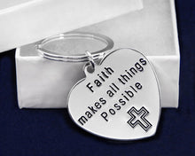Load image into Gallery viewer, Faith Makes All Things Possible Key Chains - Fundraising For A Cause