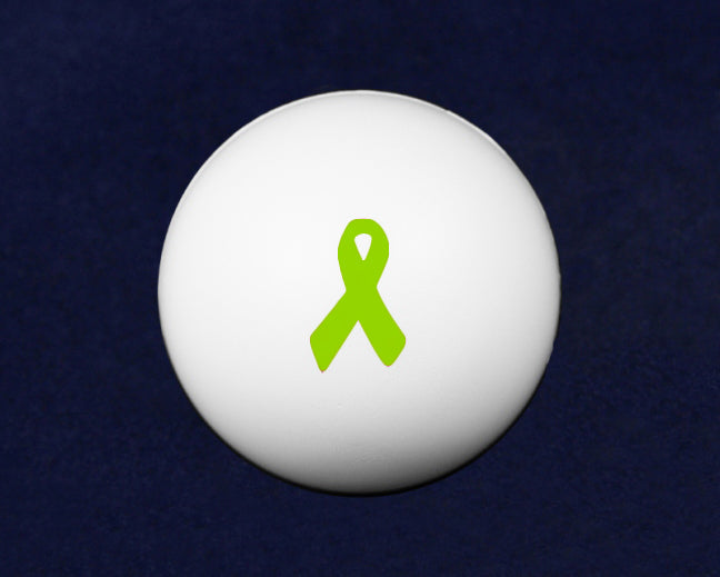 Lime Green Ribbon Stress Ball