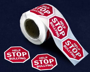 250 Help Stop Bullying Anti-Bullying Stickers (250 Stickers)