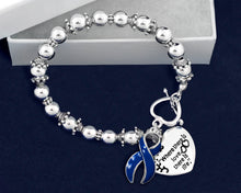 Load image into Gallery viewer, Where There is Love Child Abuse Awareness Bracelets - Fundraising For A Cause