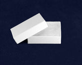 100 White Pin Jewelry Boxes (100 Boxes)