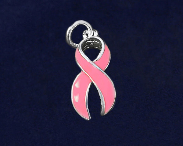 25 Breast Cancer Awareness Charms (25 Charms)