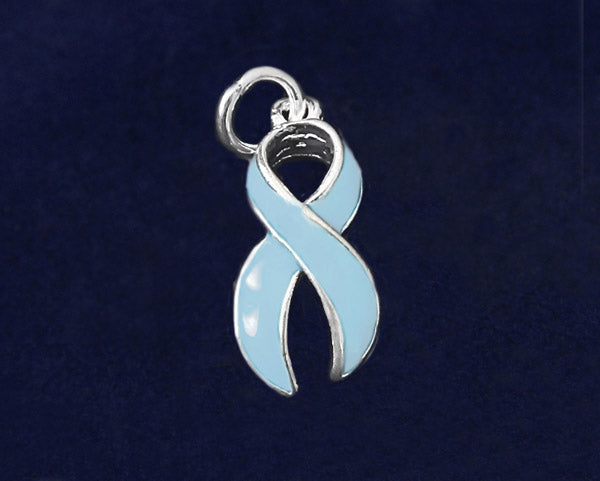 25 Prostate Cancer Awareness Ribbon Charms (25 Charms)