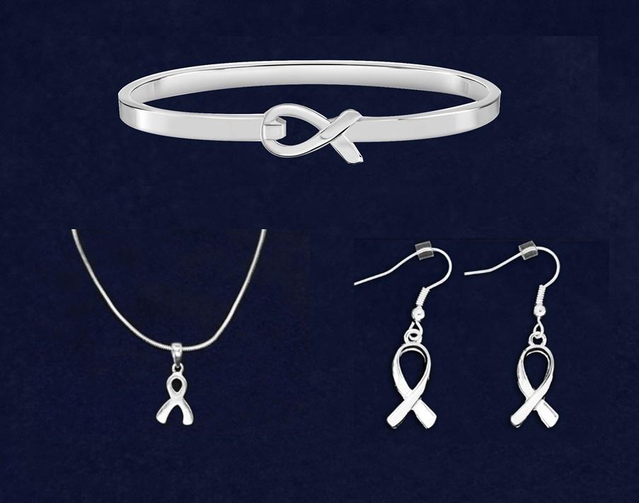 Elegant Silver Ribbon Bundle - Fundraising For A Cause