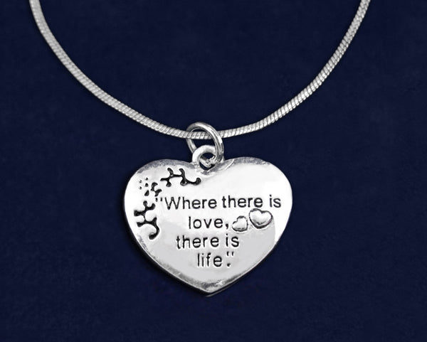 12 Where There Is Love Necklaces (12 Necklaces)