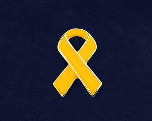 Gold Ribbon Awareness Pins - Fundraising For A Cause
