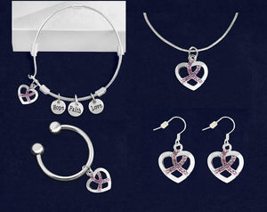 Pink Ribbon Jewelry Bundle - Fundraising For A Cause
