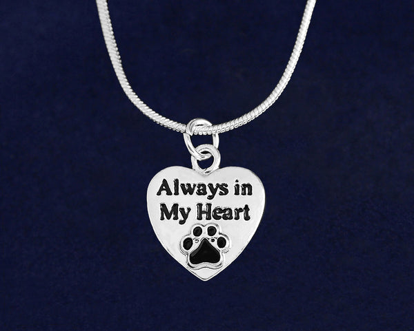 12 Always in My Heart Necklaces (12 Necklaces)