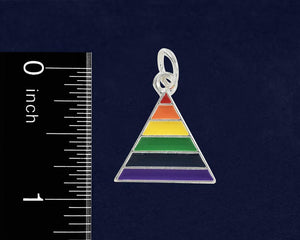 Rainbow Triangle Hanging Charms - Fundraising For A Cause