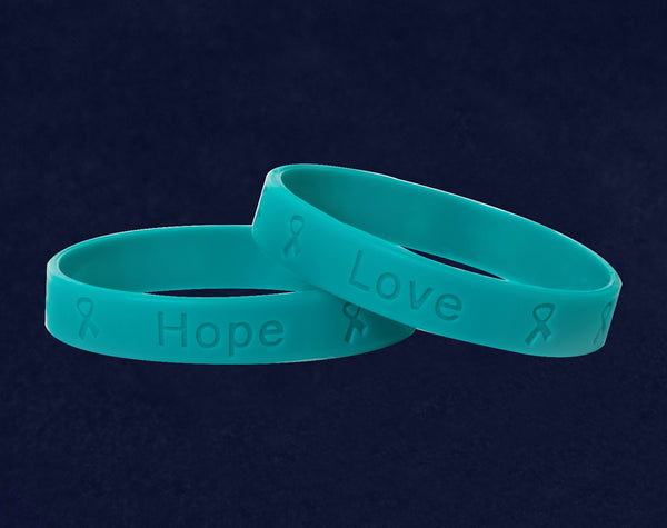 50 Adult Sexual Assault Awareness Silicone Bracelets (50 Bracelets)