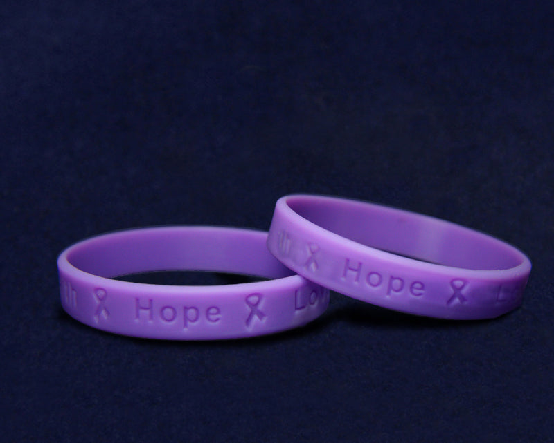 Adult Pancreatic Cancer Awareness Silicone Bracelets - Fundraising For A Cause