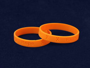 Adult Leukemia Awareness Silicone Bracelets - Fundraising For A Cause