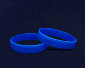 50 Adult Child Abuse Awareness Silicone Bracelets (50 Bracelets) - fundraisingforacausecom