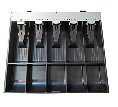 APG: 5 BILL 5 COIN TILL FOR CASH DRAWER