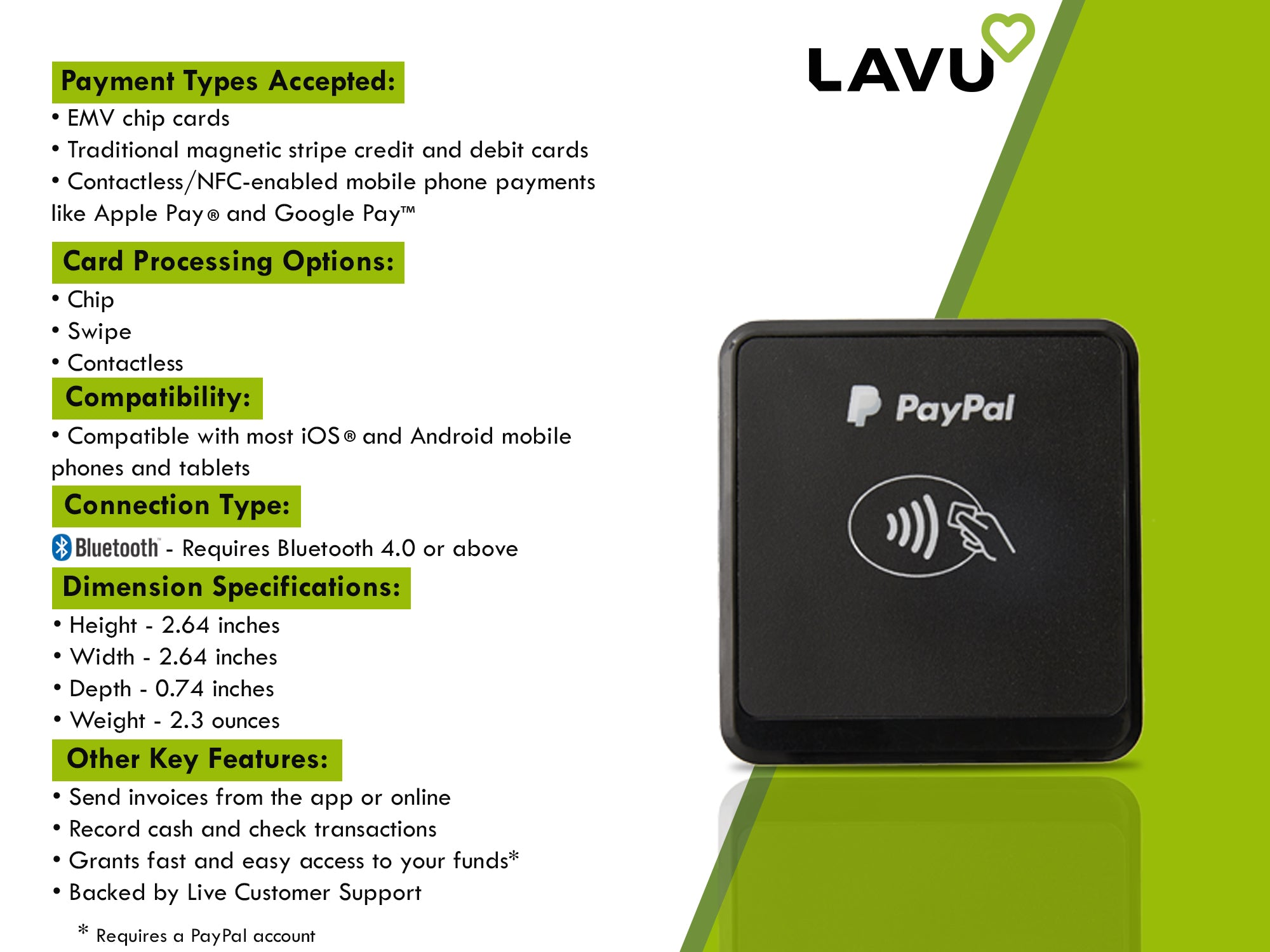 LAVU RESTAURANT POINT-OF-SALE STATION