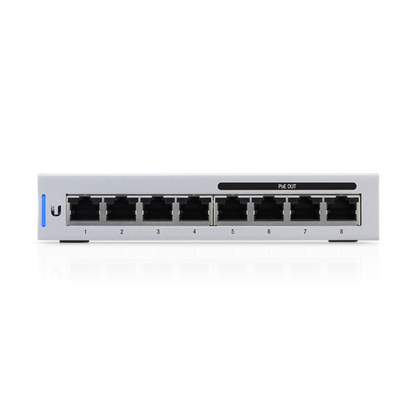 UBIQUITI UNIFI SWITCH 8-PORT 60W