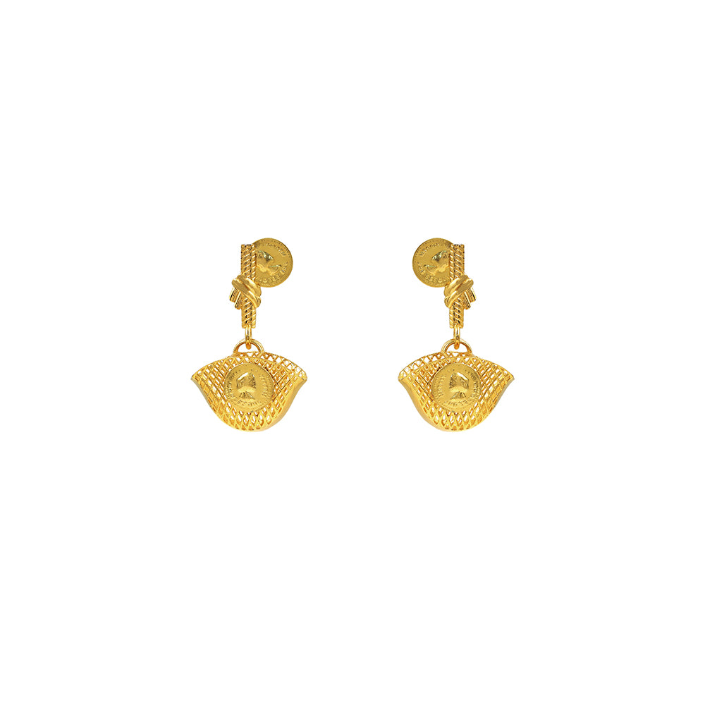 Borse Detachable Coin Ear Rings