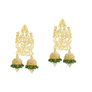 Ganesha Ear Rings Small