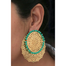 Load image into Gallery viewer, IDWC Detachable Gold Ear Rings