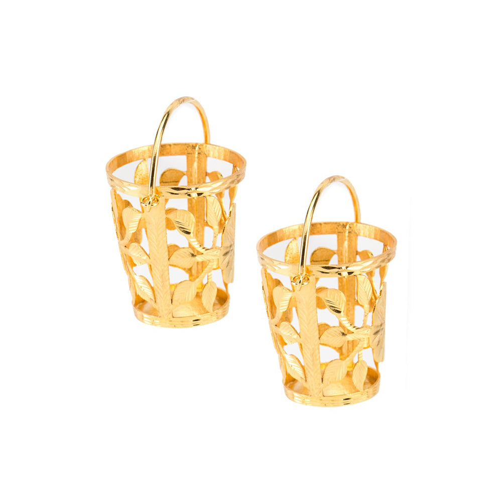 Lets save big buckets Ear Rings