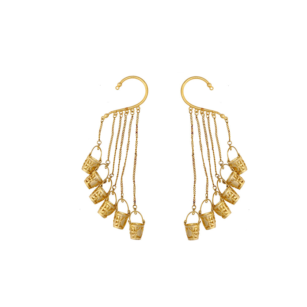 Let's Save Ear Cuffs Earrings -  Single Piece