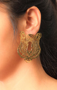 Panther Ear Rings