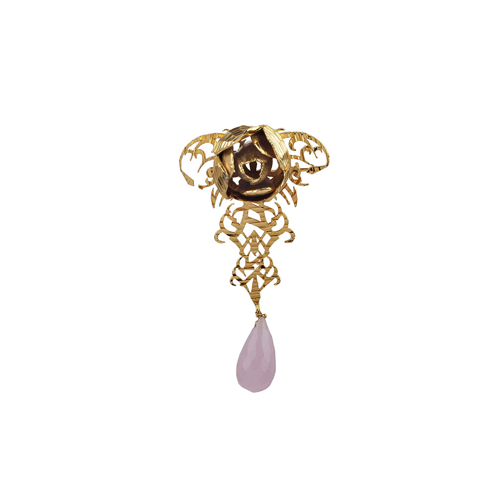 Rosette Brooch Pin