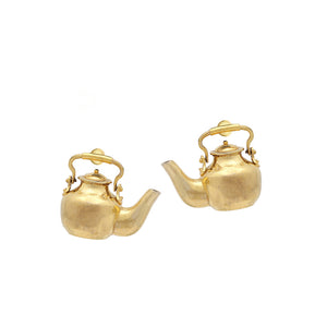 Wah Taj Kettle Ear Rings