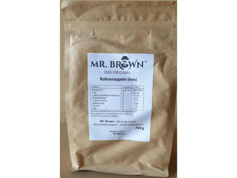 Mr. Brown - Kokosraspeln (fein) 750g