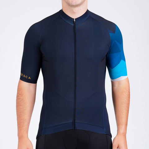 Mens recyclable cycling jersey