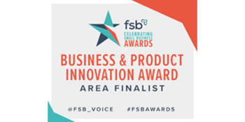 FSB - Business & Product Innovation award area finalist 2018