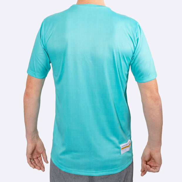 Plant Male Fully Recycled and Recyclable Sports T-shirt Back