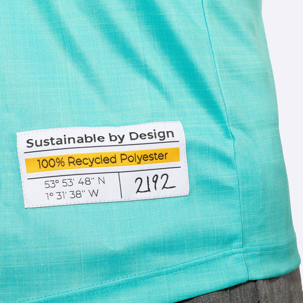 Plant Fully Recycled and Recyclable Sports T-shirt Label