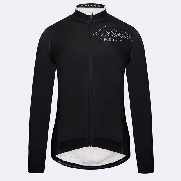 Winter Cycling Jersey - Female -  Geo Black Peak