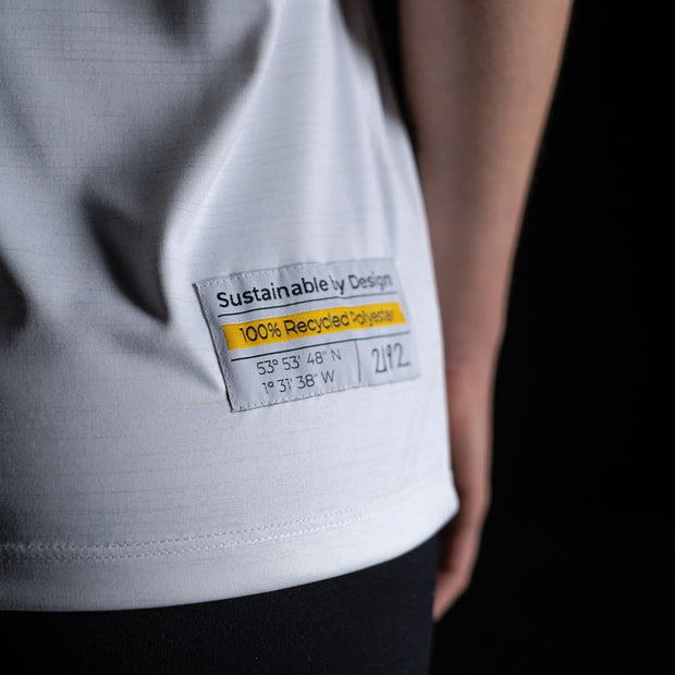 Tea Female Fully Recycled and Recyclable Sports T-shirt Label