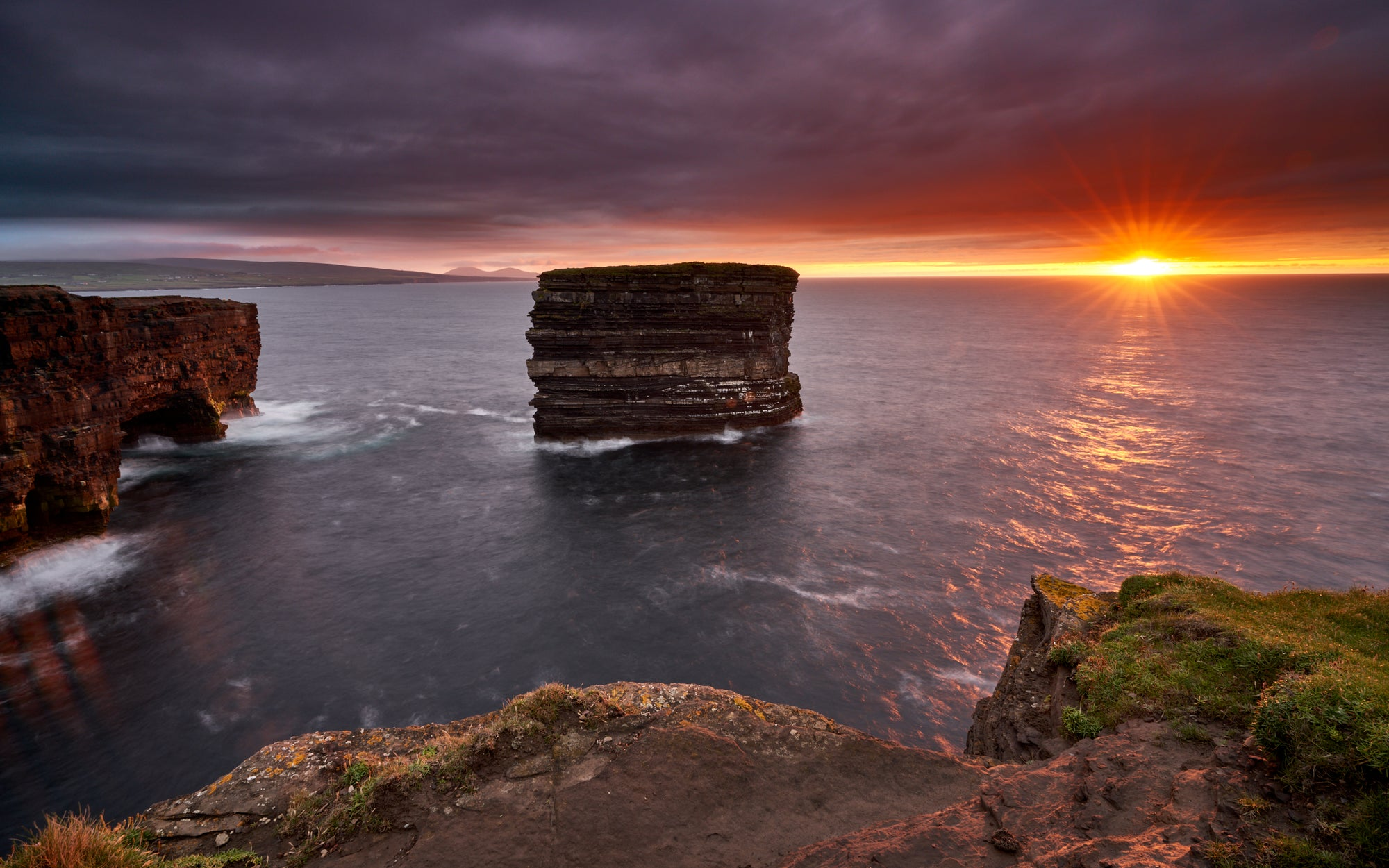 LAST LIGHT DOWNPATRICK HEAD