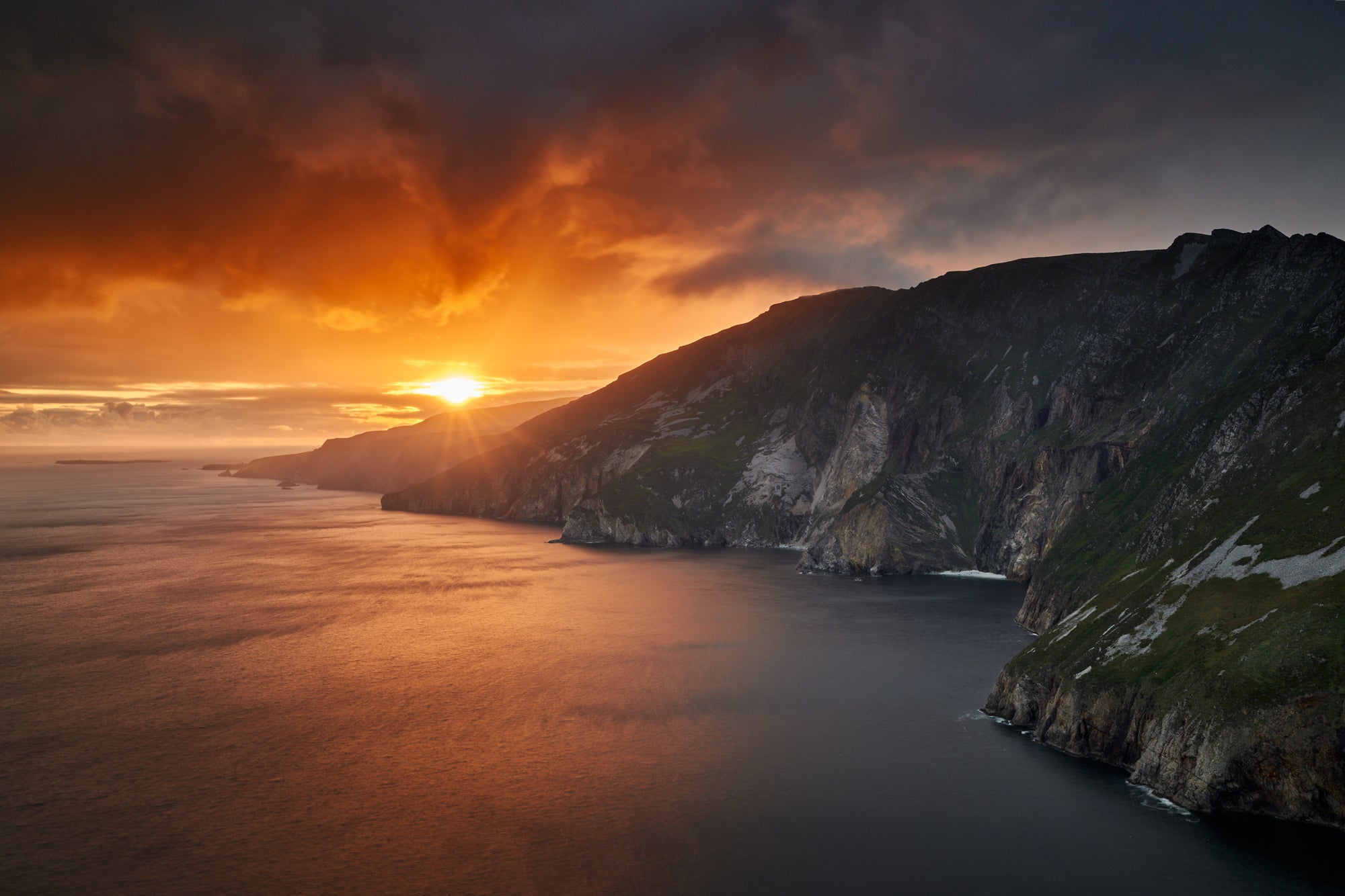 SLIEVE LEAGUE SUNSET