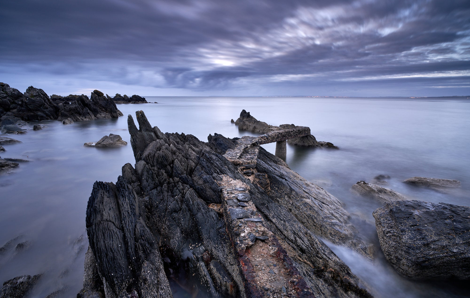 BLUE HOUR DONEGAL JETTY
