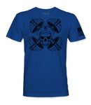 Blue Line Weights & Crossbones T-shirt