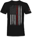 """Honor The Fallen"" (Red Line) T-Shirt"