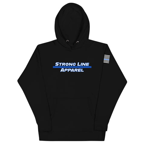 Strong Line Apparel (Blue Line) Unisex Hoodie
