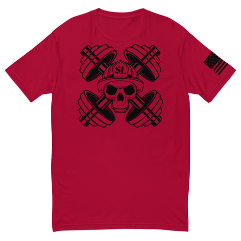 Red Line Weights & Crossbones T-shirt